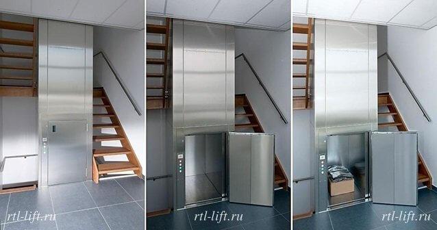 малый грузовой лифт 100 кг