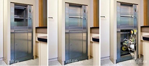 малый грузовой лифт 250 кг